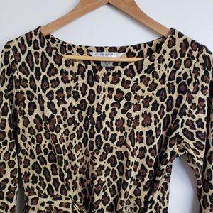 Leapoard Print Dress